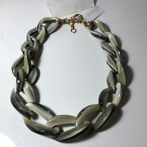 J. Crew statement Large Chain Link Necklace